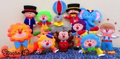 Circo, ahhh o circo. Carnival Party Decorations, Wool Dolls, Pretty Drawings, Cute Clipart, Circus Party, Flower Fairies, Clothes Crafts, Animal Crafts, Felt Toys