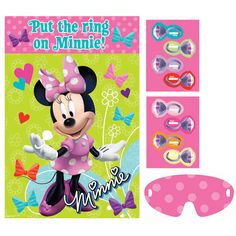 Minnie Mouse Party Game | 1 ct