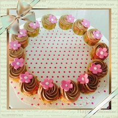 Cupcakes para todos: receta+singluten. Minicupcakes de frambuesa y chocolate sin gluten