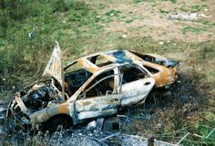 burnt out car Norwich