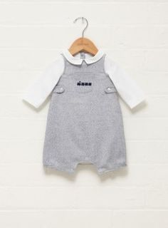 Little Percy Dungaree Set