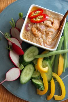 Lon Pla Salmon (หลนปลาแซลมอน) - Salmon Coconut Milk Relish (English doesn't really have a good word for Lon)