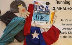 Comrades Update: What to Wear Pre-Race, Early KMs, and at the FINISH!
