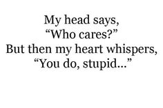 He Broke My Heart Quotes   Quotes heart instructions written smile actions cares Love Quotes ...