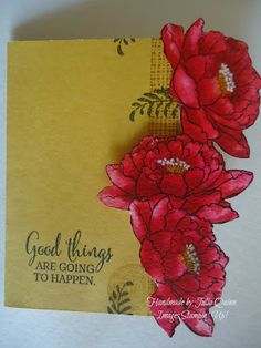 handmade by Julia Quinn - Independent Stampin' Up! Demonstrator;  You've Got This