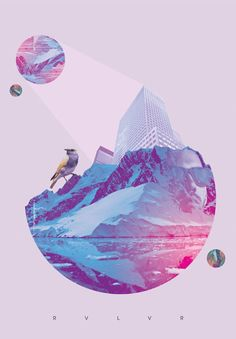RVLVR Graphic Design Project. This project makes me think of the triangular shapes I see in my own work. Love it!: