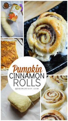 Pumpkin Cinnamon Rolls - This quick and easy dessert is simple to make in just about 25 minutes using a surprise ingredient!