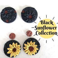 Black Sunflower Collection – Leafy Originals Dangles, The Originals, Collection, Black, Black People
