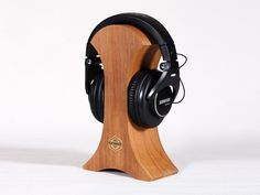 STARE  Headphones stand by RockwoodShop on Etsy