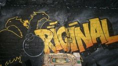 graffiti aek ORIGINAL,I like this.