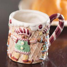 Christmas Gingerbread Ceramic Mug 8