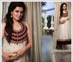 Aasha Boutique White Dresses For Eid Party Wear 2013 11 Style Couture Stylish Eid Dresses 2013 For women Pakistani Wedding Outfits, Pakistani Dresses, Indian Outfits, Eid Dresses, Occasion Dresses, Fashion Dresses, Dresses 2013, Formal Dresses, Wedding Dresses
