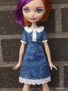 Dress for Ever After High dolls. by Kosucas on Etsy