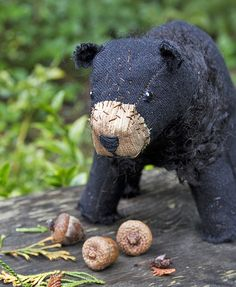 sweetest little black bear by fog & swell.