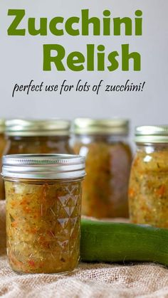 Zucchini Relish is way easier than you think! Tastes so much better than store bought relish! Great way to use up all of the zucchini in your garden too! Zuchini Relish, Zucchini Relish Recipes, Zucchini Salsa, Zuchinni Recipes, Veggie Recipes, New Recipes, Zucchini Fritters, Favorite Recipes, Fall Recipes