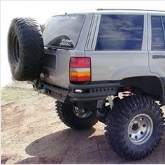 PreRunner Rear Bumper w/ Tire Rack ZJ - WILD HORSES Off-Road Parts & Accessories