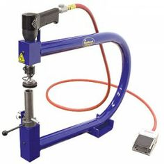 Pneumatic Planishing Hammer with Frame
