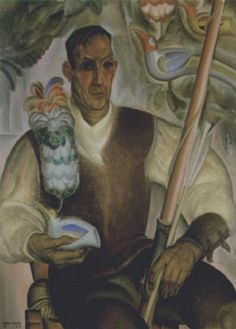 Antoine (Anto) Carte (1886-1954), 1926, L'archer - De boogschutter (Oil on Canvas), artnet-com (107 x 77cm)