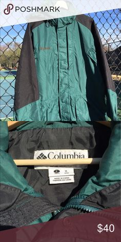 Vintage Columbia Jacket Good condition, missing the main zipper pulley (zipper is still functional, pulley can be fixed/replaced) Columbia Jackets & Coats