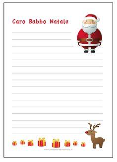 Calendario dell'avvento giorno 10: la lettera per Babbo Natale da stampare