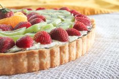 Eggless Cheesecake Recipe (Topped with Tropical Fruits)