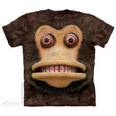 Big Face Cymbal Monkey T-Shirt
