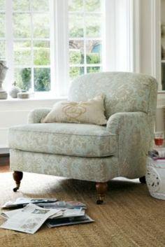 Downton Den Chair - English Arm Chair, North Carolina Chair, Custom Upholstered Chair   Soft Surroundings