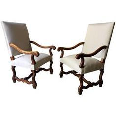Pair of French Louis XIV Style Armchair