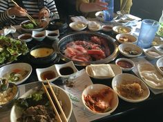 $22 all-you-can-eat at Manna Korean BBQ.