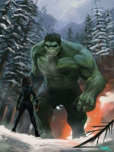 #Hulk #Fan #Art. (Hulk of winter) By: Tontanat. (THE * 5 * STÅR * ÅWARD * OF: * AW YEAH, IT'S MAJOR ÅWESOMENESS!!!™)[THANK Ü 4 PINNING!!!<·><]<©>ÅÅÅ+(OB4E)   https://s-media-cache-ak0.pinimg.com/564x/bb/21/03/bb21037b4d54142dd049057728fc37f3.jpg