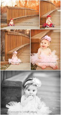 Baby Girl's 6-Month Portraits © Exposures to Sunlight Photography www.exposurestosunlight.com