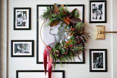 Winter Wreath Workshops 2018 Hello November, Modern Wreath, Winter Wedding Flowers, Bridal Boutique, Christmas Wreaths, Workshop, Bride, Create, Holiday Decor
