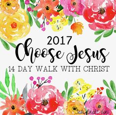 """Every Easter our family participates in a """"14 Day Walk With Christ"""". This takes place the 2 weeks leading up to Easter. Life is so busy and rushed, Easter can come and go before we know it. It …"""