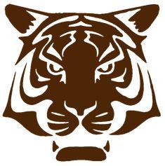 tigre fort boyard pochoir copie Theme Harry Potter, Silhouette Curio, Tiger Art, Scroll Saw Patterns, Activities For Kids, Moose Art, Images, Alice, Illustration