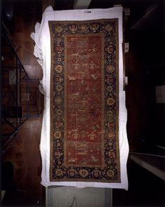 The Fremlin Carpet (Carpet) Date: ca. 1640 (made) Place: Lahore Pakistan (probably, made) Length: 599 cm, Width: 249 cm Museum number: IM.1-1936