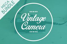 Camera Photo Bundle by gergdesigns on @creativemarket
