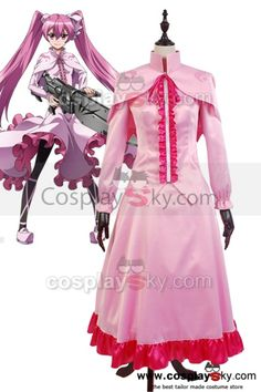 Akame ga KILL! Night Raid Sniper Mine Gown Cosplay Costume,made in your own measurements,