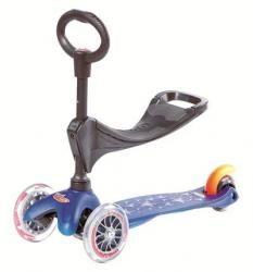 Trottinette Mini Micro 3 en 1 Bleue m-cro - Micro / M-cro MM0086 - Nouveauté - C'Ki le Roi Bruxelles - boutique + e-shop - jeux, jouets, liv...