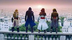 Parkour Team Invades Paris to Recreate 'Assassin's Creed Unity'