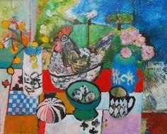 Still life with chicken