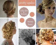 side updo - wedding hair?