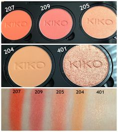 Isabelle Taking Chances.: Review : KIKO Infinity Eyeshadow Palette CLICS System