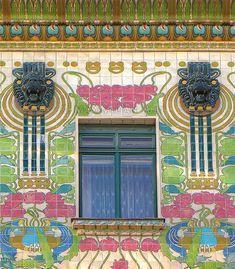 Majolica House – Architecture of Art Nouveau in Vienna (Photo: Maximilian Just) ~ | JV