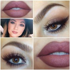 Kylie's makeup look