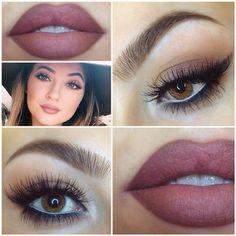 Kylie's makeup look