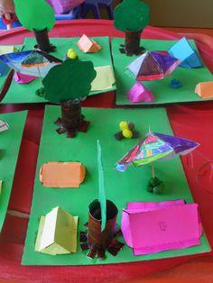 't Stokpaardje tweede kleuterklas: THEMA : KAMPEREN Camping Crafts For Kids, Daycare Crafts, Kids Crafts, Diy And Crafts, Summer Activities, Preschool Activities, Activities For Kids, Toddler Circle Time, Tent Craft