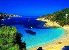 Cala Salada Ibiza,  Spain courtesy of earth porn via fb