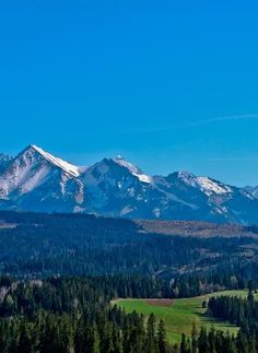 Tatry Mountains, Poland