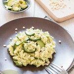 Risotto de verduras con calabacín y puerro