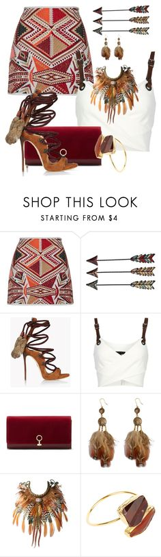 """""""SHAWNEE by ShaunSlay"""" by shaunslay ❤ liked on Polyvore featuring Dsquared2, Barbara Bui, Louise et Cie and West Coast Jewelry"""